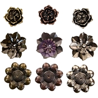 Εικόνα του Μεταλλικά διακοσμητικά Finnabair Mechanicals - Flowers