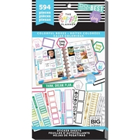 Εικόνα του Happy Planner Sticker Value Pack - Colorful Boxes