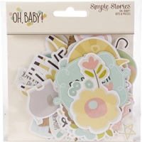 Εικόνα του Oh Baby! Bits & Pieces Die-Cuts