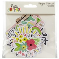 Εικόνα του Hello Summer Bits & Pieces Die-Cuts