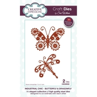 Εικόνα του Μήτρες Κοπής Creative Expressions Craft Dies - Butterfly & Dragonfly