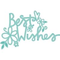 Εικόνα του Kaisercraft Μήτρα Κοπής - Floral Best Wishes