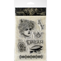 Picture of Graphic 45 Clear Acrylic Stamps - Dream