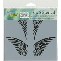 Εικόνα του Crafter's Workshop Template 15 X 15 - Angel Wings