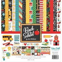"Εικόνα του  Echo Park Collection Kit 12""X12"" - Back To School"