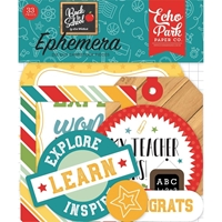 Εικόνα του Echo Park Back to School Ephemera Cardstock Die-Cuts