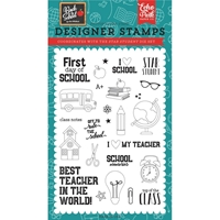 "Εικόνα του Echo Park Stamps 4""X6"" - Back to School"