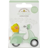 Picture of Doodlebug Doodle-Pops 3D Stickers - Beep Beep