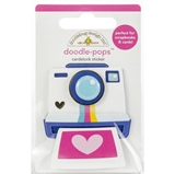 Picture of Doodlebug Doodle-Pops 3D Stickers - Oh Snap!