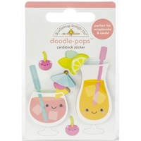 Εικόνα του Doodlebug Doodle-Pops 3D Stickers - Fruit Punch