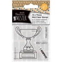 Εικόνα του Mr. Mister Mini Set Σφραγίδων Clear - Trophy