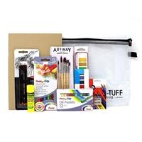 Εικόνα του Essentials Art Kit -  Κιτ Καλλιτέχνη: Σκίτσο, Ζωγραφική