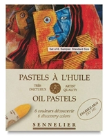 Εικόνα του Sennelier Oil Pastels - 6 Starter Colours
