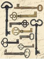 Εικόνα του K&Company Life's Journey Metal Art - Keys