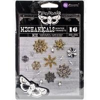 Εικόνα του Μεταλλικά Διακοσμητικά Finnabair Mechanicals - Winter Trinkets