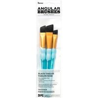 Εικόνα του Σετ Πινέλων Black Taklon - Angular Brushes
