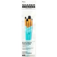 Εικόνα του Σετ Πινέλων Black Taklon - Shader Brushes