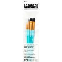 Εικόνα του Σετ Πινέλων Black Taklon - Assorted Brushes