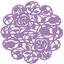 Εικόνα του Purple Metal Die - La Fleur Doily