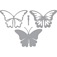 Εικόνα του Spellbinders Indie Line Shapeabilities Dies - Layered Butterfly