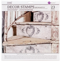 Εικόνα του Iron Orchid Designs Decor Clear Stamps  - Signage II