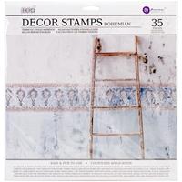Εικόνα του Iron Orchid Designs Decor Clear Stamps  - Bohemian