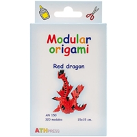 Εικόνα του Modular Origami Kit - Red Dragon