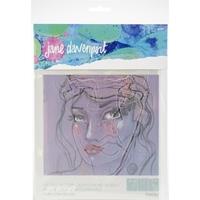 Εικόνα του Jane Davenport Artomology Stencils - Good Face