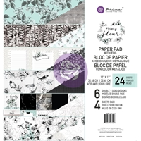 "Εικόνα του Prima Marketing Double-Sided Paper Pad 12""X12"" - Flirty Fleur"