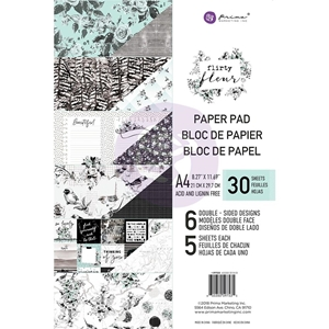 Picture of Prima Marketing Double-Sided Paper Pad A4 - Flirty Fleur