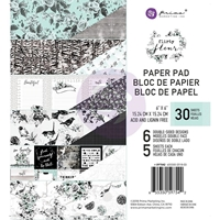 "Εικόνα του Prima Marketing Double-Sided Paper Pad 6""X6"" - Flirty Fleur"
