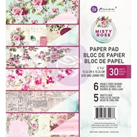 "Εικόνα του Prima Marketing Double-Sided Paper Pad 6""X6"" - Misty Rose"