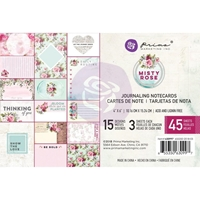 "Εικόνα του Misty Rose Journaling Cards Pad 4""X6"""