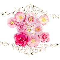 Εικόνα του Misty Rose Mulberry Paper Flowers - Maggie