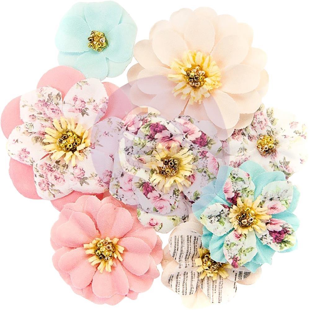 Misty Rose Mulberry Paper Flowers Earleen Scrapsnpieces