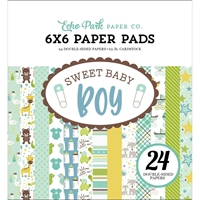 "Εικόνα του Echo Park Double-Sided Paper Pad 6""X6"" - Sweet Baby Boy"