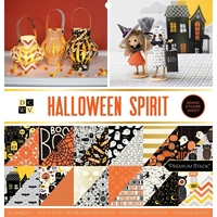 "Εικόνα του DCWV Double-Sided Cardstock Stack 12""X12"" - Halloween Spirit"