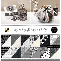 "Εικόνα του DCWV Double-Sided Cardstock Stack 12""X12"" - Spooky & Sparkly"