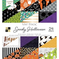 "Εικόνα του DCWV Double-Sided Cardstock Stack 6""X6"" - Spooky Halloween"