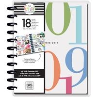 Εικόνα του Happy Planner 18-Month Dated Big Planner - Colorblock