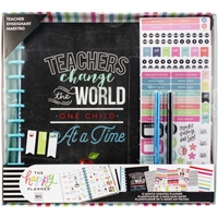Εικόνα του Happy Memory Keeping UnDated 12-Month Big Planner Box Kit - Teachers Change The World