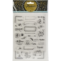 Εικόνα του Studio Light Planner Journal A5 Stamp - Set 7