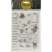 Εικόνα του Studio Light Planner Journal A5 Stamp - Set 5