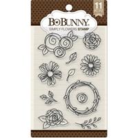 Εικόνα του Bo Bunny Σετ Σφραγίδων - Simply Flowers