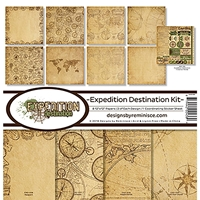 "Εικόνα του Reminisce Collection Kit 12""X12"" - Expedition Destination"
