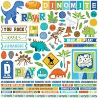 """Εικόνα του Jurassic Stickers 12""""X12"""" - Elements"""