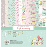 Εικόνα του First Moments Paper Pack 12''x12''