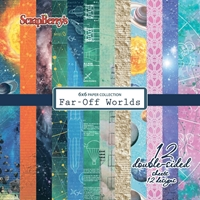 Εικόνα του Far-Off Worlds Paper Pack 6''x6''