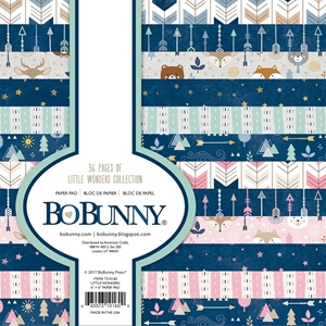 "Picture of BoBunny Single-Sided Paper Pad 6""X6"" - Little Wonders"