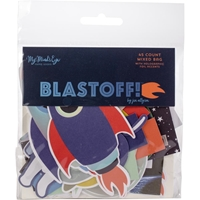 Εικόνα του Blastoff Mixed Bag Cardstock Die-Cuts